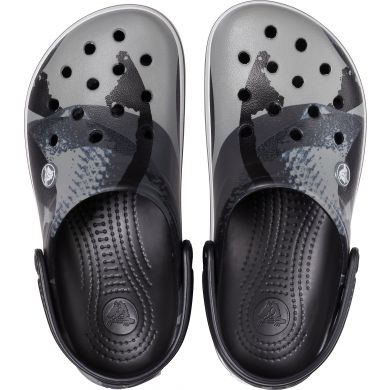 Crocband OmbreBlock Clog Black/White