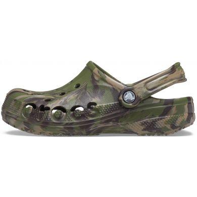 Baya Marbled Clog Army Green/Multi