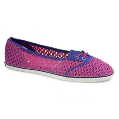 Too Cute Woven Crochet fuchsia