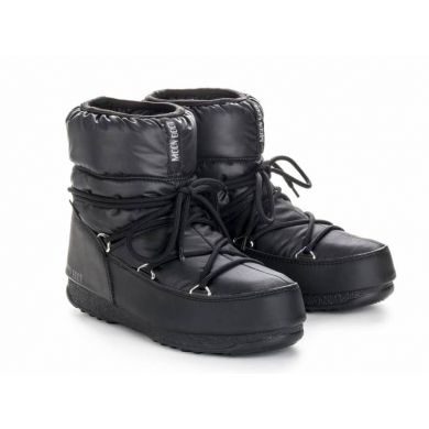 Dámské černé sněhule Moon Boot Low Nylon WP