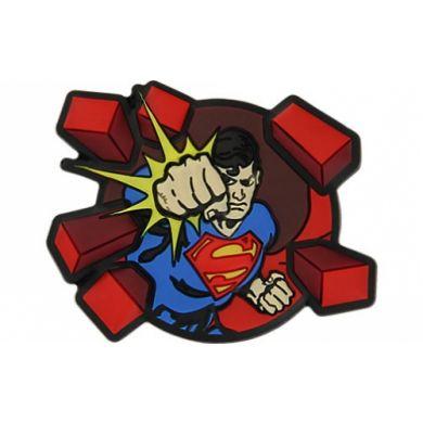 Superman Superman Punching Bricks