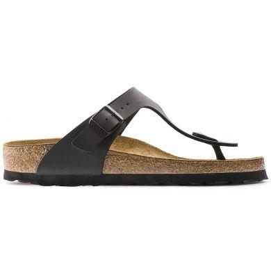 Černé pantofle Birkenstock Gizeh Birko-Flor