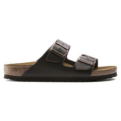 Hnědé pantofle Birkenstock Arizona Smooth Leather