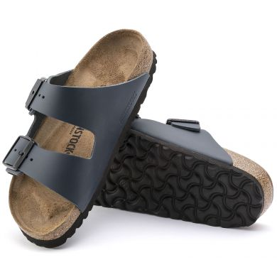 Modré pantofle Birkenstock Arizona Natural Leather