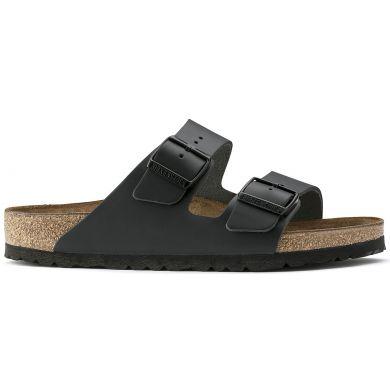 Černé pantofle Birkenstock Arizona Leather