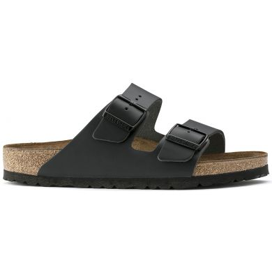 Černé pantofle Birkenstock Arizona Leather