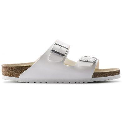 Bílé pantofle Birkenstock Arizona Birko-Flor