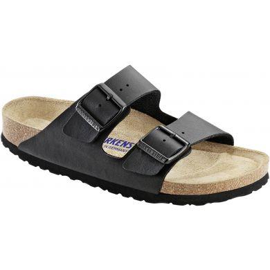 Černé pantofle Birkenstock Arizona SFB Birko-Flor