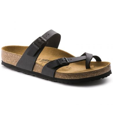 Černé pantofle Birkenstock Mayari Birko-Flor