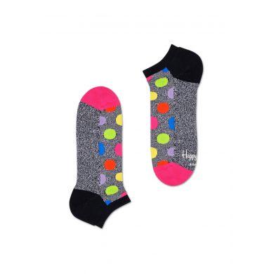 Nízké ponožky Happy Socks s puntíky, vzor Big Dot - dva páry // KOLEKCE ATHLETIC