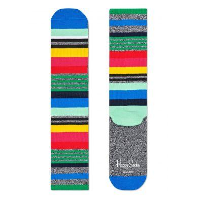 Pruhované ponožky Happy Socks, vzor Multi Stripe // KOLEKCE ATHLETIC