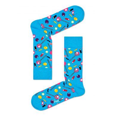 Modré ponožky Happy Socks s cukrátky, vzor Candy