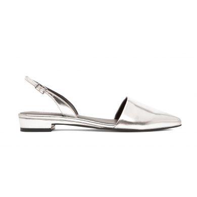 Stříbrné dámské sandály Matt & Nat Cory