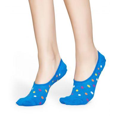 Nízké ponožky Happy Socks, vzor Big Dot - 3 páry