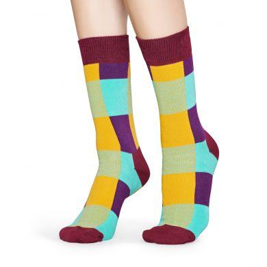 Barevné ponožky Happy Socks, vzor Lumberjack