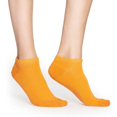 Nízké ponožky Happy Socks, vzor Hotdog (černé) - 2 páry