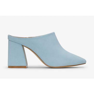 Modré dámské boty na podpatku Matt & Nat Joan