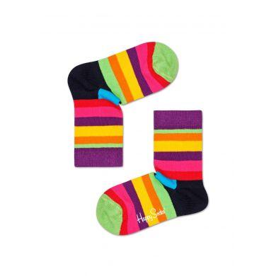 Dětské ponožky Happy Socks s barevnými pruhy, vzor Stripe
