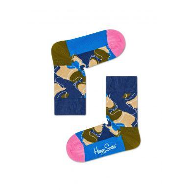 Dětské modré ponožky Happy Socks X Wiz Khalifa