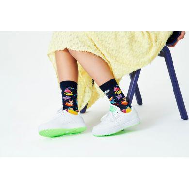 Modré ponožky Happy Socks, vzor Magic