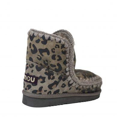 Dámské válenky s leopardím vzorem Mou Eskimo