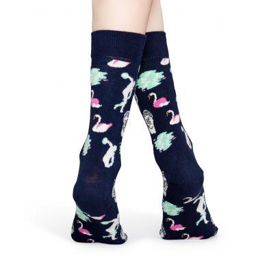Tmavě modré ponožky Happy Socks, vzor Park