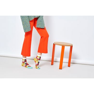 Dámské žluté ponožky Happy Socks Emma // kolekce Hysteria