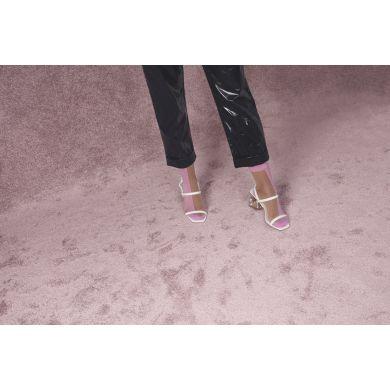 Dámské růžovo-tělové ponožky Happy Socks Filippa // kolekce Hysteria