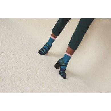 Dámské modré ponožky Happy Socks Jill // kolekce Hysteria