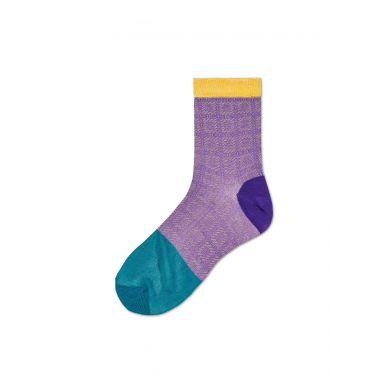 Dámské fialové ponožky Happy Socks Jill // kolekce Hysteria