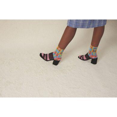Dámské růžové ponožky Happy Socks Marcia // kolekce Hysteria