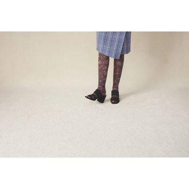 Dámské hnědé punčochy Happy Socks Sophia // kolekce Hysteria