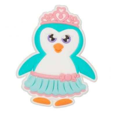 Odznáček Jibbitz - Penguin Princess