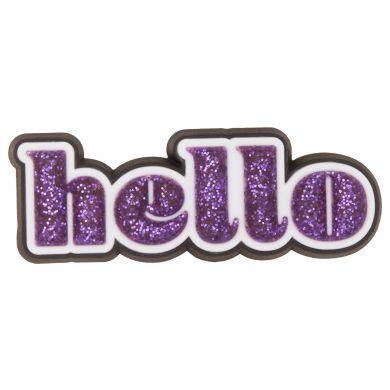 Odznáček Jibbitz - Sparkle Hello