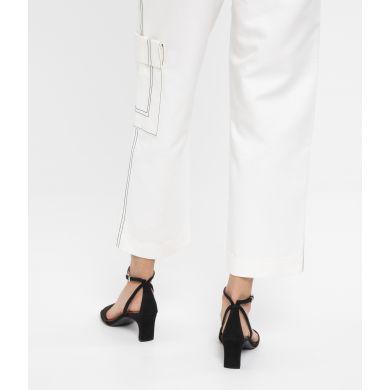 Dámské černé boty na podpatku Matt & Nat Elodie