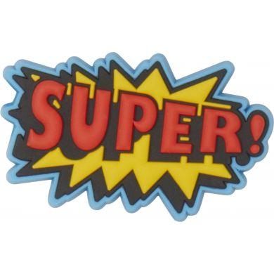 Odznáček Jibbitz - Super