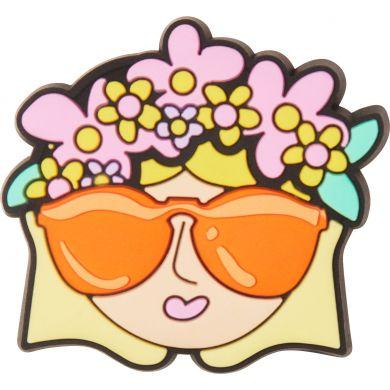 Odznáček Jibbitz - Flower Crown Girl