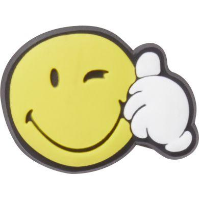 Odznáček Jibbitz - Smiley Thumbs Up