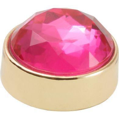 Odznáček Jibbitz - Elevated Gem Pink