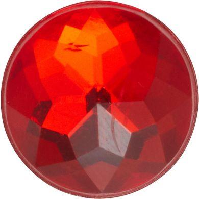 Odznáček Jibbitz - Sparkly Red Circle