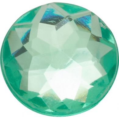 Odznáček Jibbitz - Sparkly Green Circle