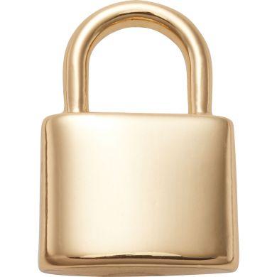 Odznáček Jibbitz - Gold Lock