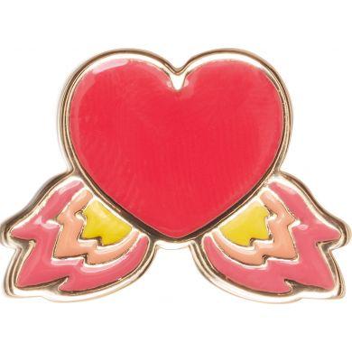 Odznáček Jibbitz - Elevated Flame Heart