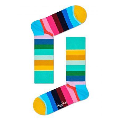 Barevné ponožky Happy Socks s pruhy, vzor Stripe