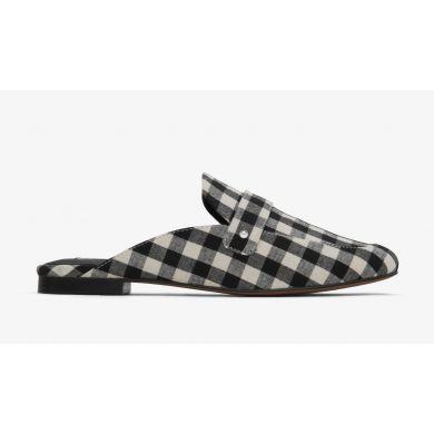 Černo-bílé dámské pantofle Matt & Nat Victoria