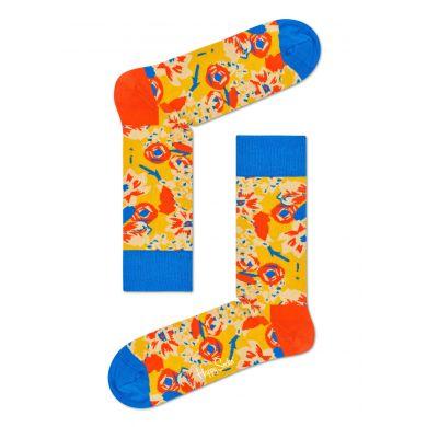 Žluté ponožky Happy Socks X Wiz Khalifa