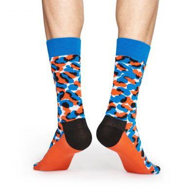 Červeno-modré ponožky Happy Socks X Wiz Khalifa