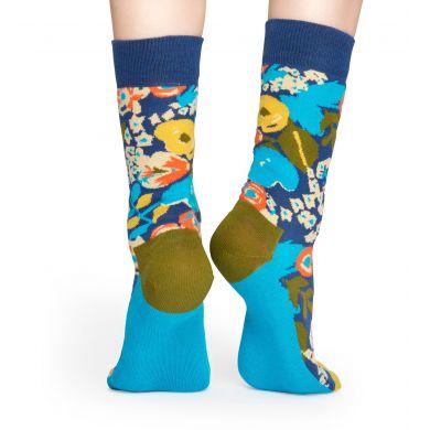 Červené ponožky Happy Socks X Wiz Khalifa