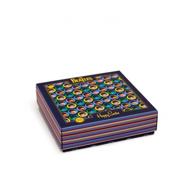 Dárkový box ponožek Happy Socks x Beatles - 3 páry