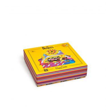 Dárkový box ponožek Happy Socks x The Beatles - 3 páry